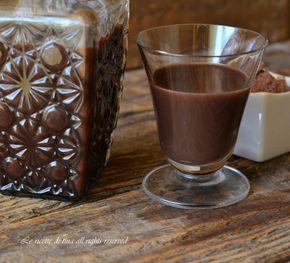 Liquore al cioccolato,un liquore cremoso e delizioso