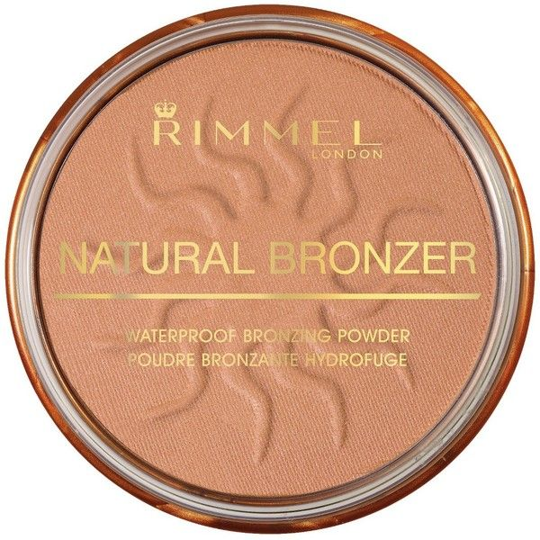 Rimmel Natural Bronzer ($3.99) ❤ liked on Polyvore featuring beauty products, makeup, cheek makeup, cheek bronzer, beauty, make, pele and rimmel