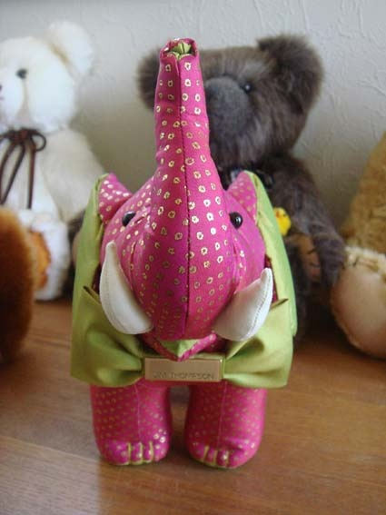 Stuffed toy of the elephant