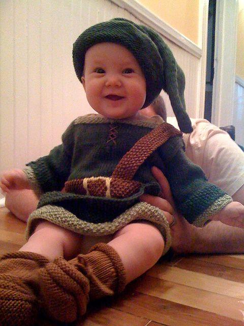 Ravelry: elevatedknitter's Baby Link (Legend of Zelda)