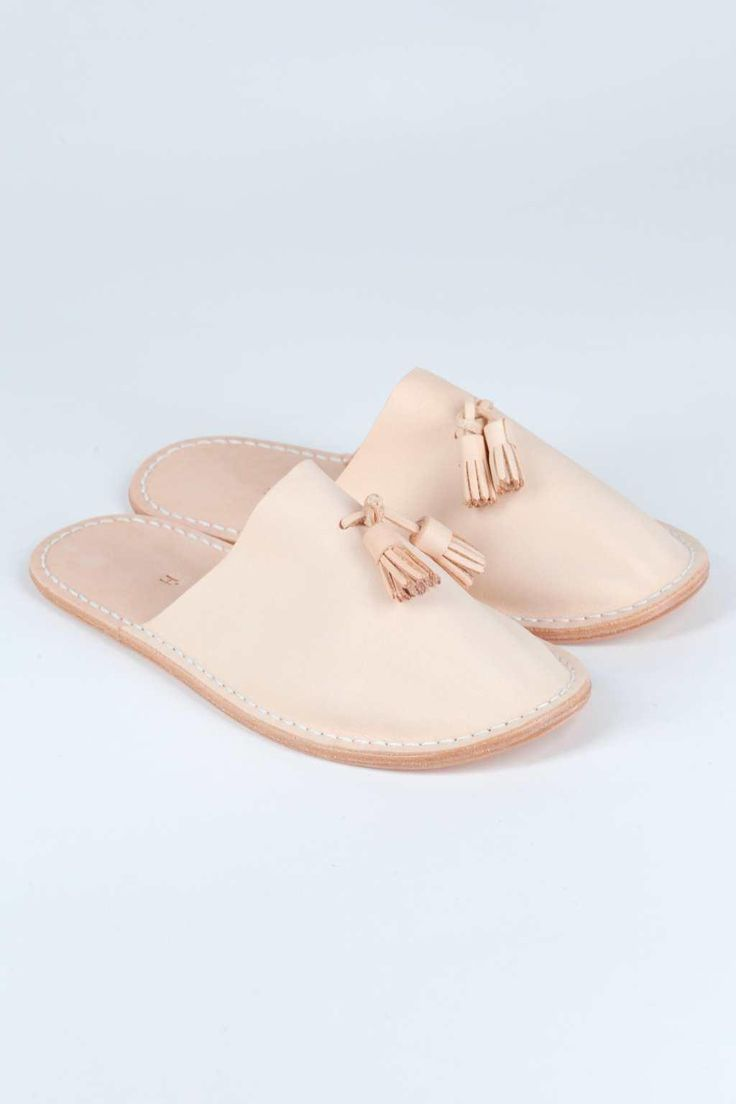 Blue Button Shop - Leather Slipper