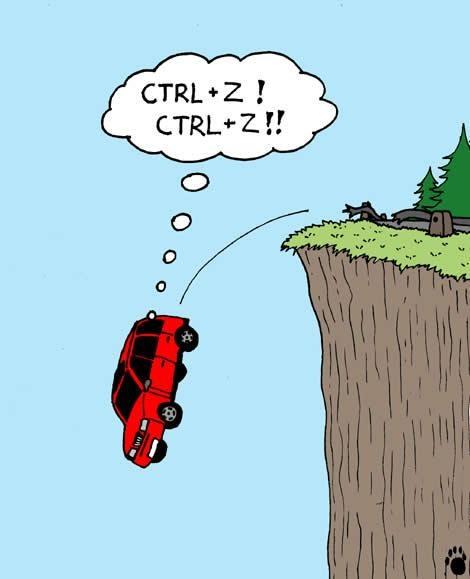 CTRL Z humour geek