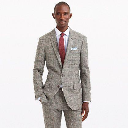 J B Ludlow Ludlow suit jacket in glen plaid English wool : ludlow | J.Crew