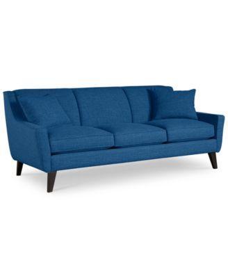jaylen fabric sofa macys com home sofas sofa fabric sofa rh pinterest com