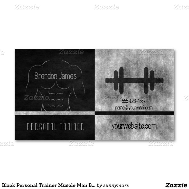 212 best Fitness Business Cards images on Pinterest | Trainers ...