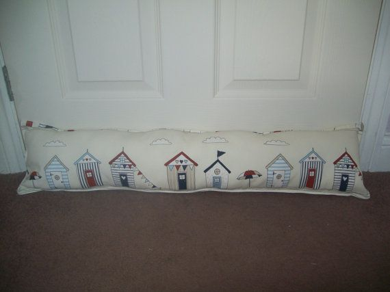 Door Way Draught Excluder Draft Pillow Padded Home by TyCwtch, £10.00