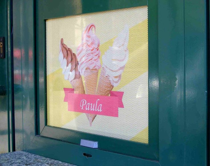 Punch ice cream, if anyone asks #printing #vinylgraphics #onewayvision #reklam #reklamyzklimatem  #minskmazowiecki #summerstyle #icecreams #savory