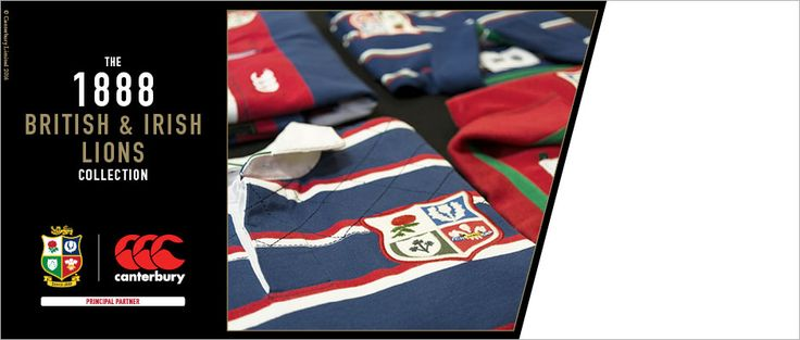 British Lions rugby kit