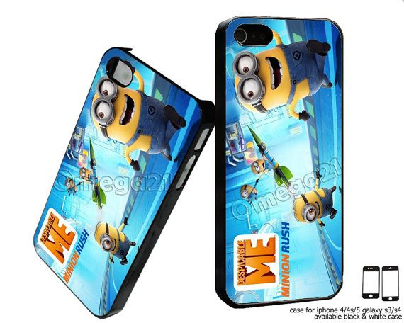 Hey, I found this really awesome Etsy listing at http://www.etsy.com/listing/163453046/despicable-me-minion-rush-custom-case