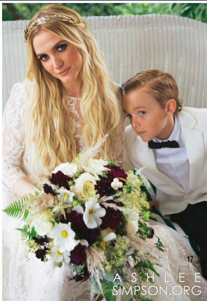 ashlee simpson headpiece | Ethereal Decadent wedding ...