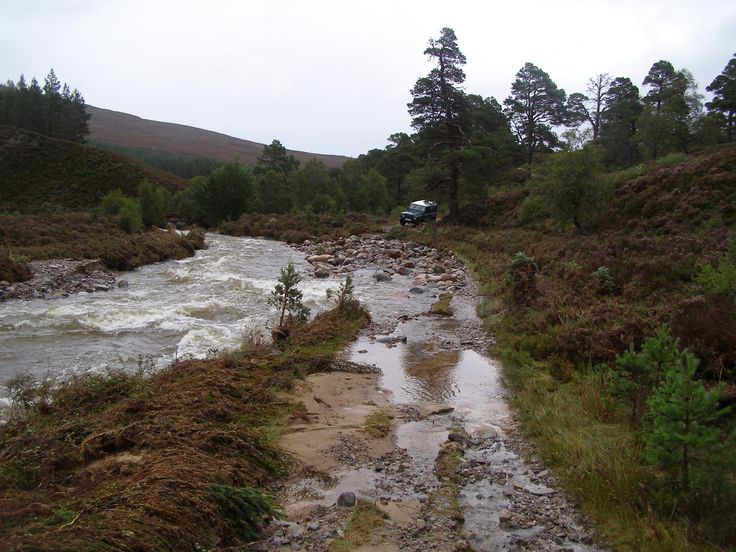 Evidence of storm damage at Mar Lodge Estate, Scotland #NTSAppeal