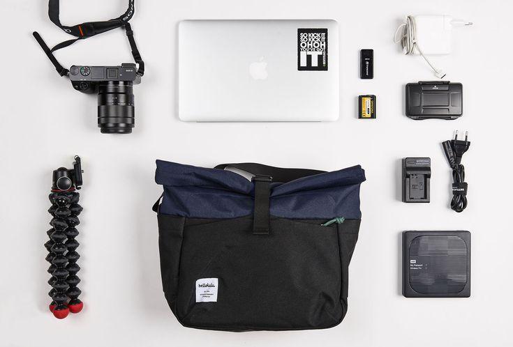 Perfekte Kameratasche die nicht wie eine aussieht und viel Platz bietet!