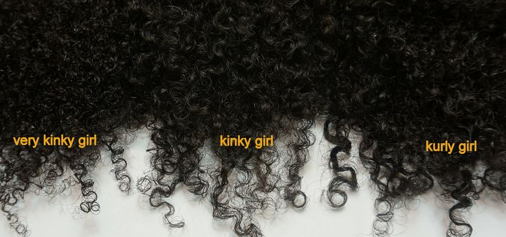 3 textures of kinky-curly hair designed to mimic types 3B, 3C, 4A, 4B, and 4C hair. http://www.BeautifulSecretsHair.com