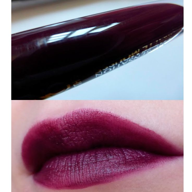 Жидкая помада мусс oriflame для губ The ONE Сливовый Sensation орифлейм Lipstick mousse Lip Matte Boysenberry орифлэйм 32257