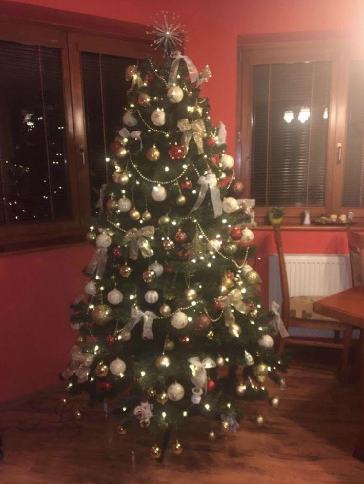 Smrek Gold Tradicny 220 Cm Umely Vianocny Stromcek Christmas Tree Holiday Decor Decor