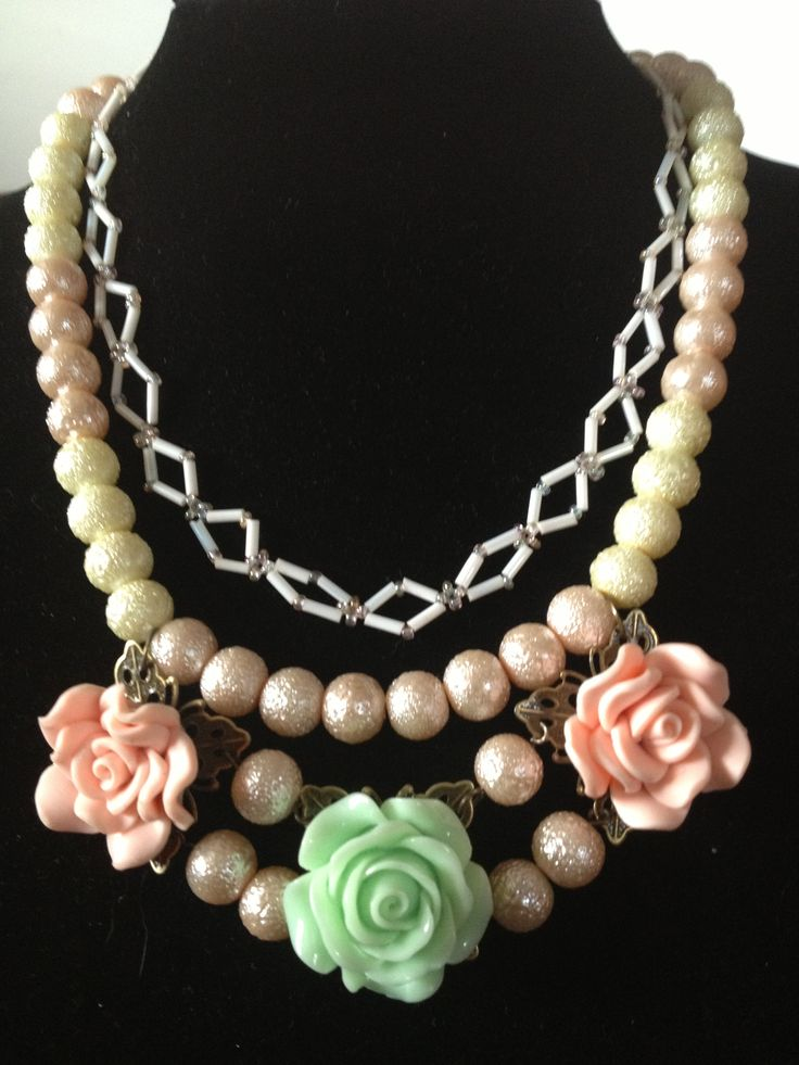 Stardust & Flowers Necklace