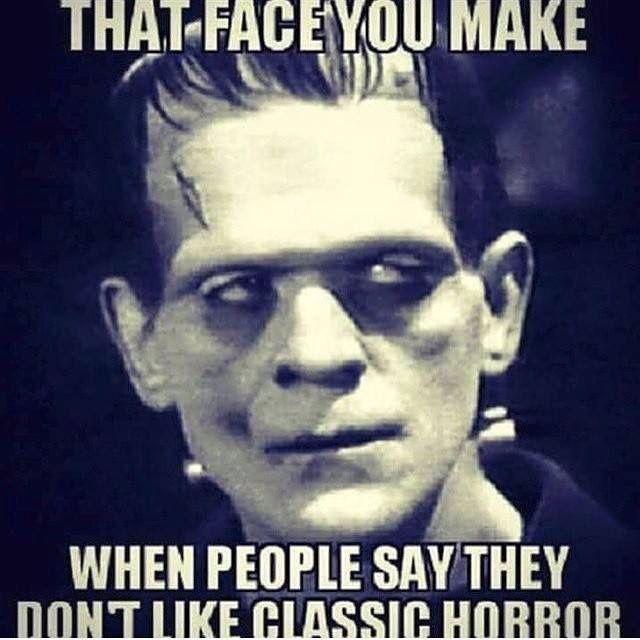 image Vintage funny horror movie parody with dildo