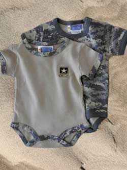 Army ACU Camo Bodysuits - 2 Pack -- Barre Army/Navy Store Online Store