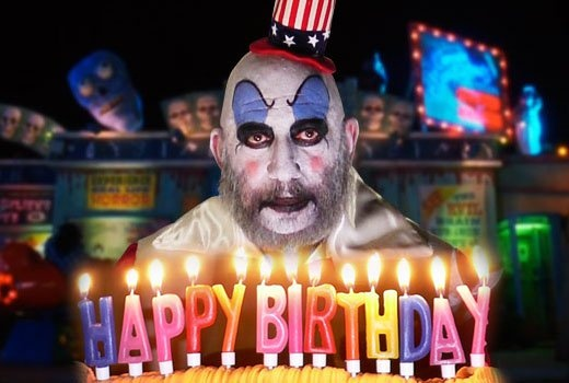 Captain Spaulding at his sinister best