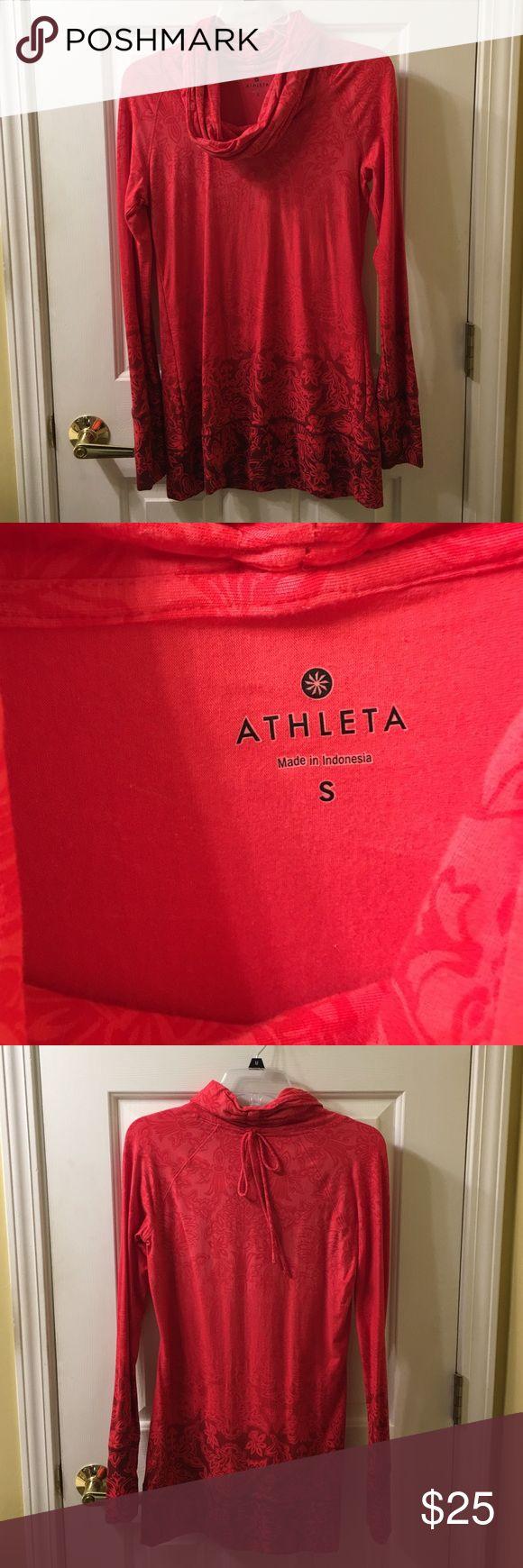 Tunic top Red tunic top, long sleeve Athleta Tops Tunics