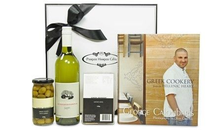 Fabulous cooking from George Calombaris - From the Hellenic Heart Cookbook $149 (AUD) at Red Wrappings