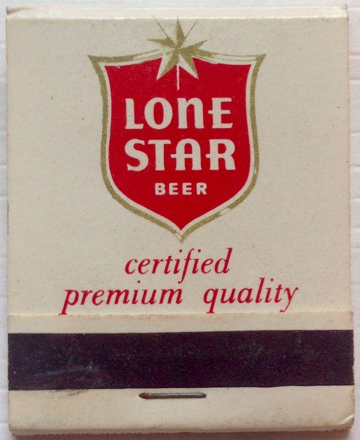 85 best Beer Advertising Match Books Vintage images on Pinterest ...
