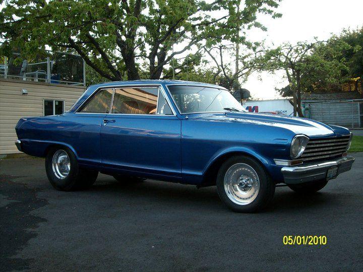 Roys Blue Chevy II
