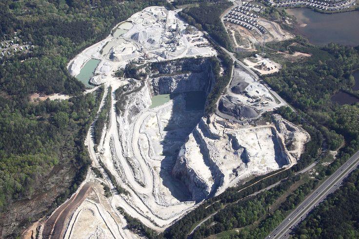 Vulcan Materials Quarry - Lithia Springs, Georgia | Wow. Tha… | Flickr