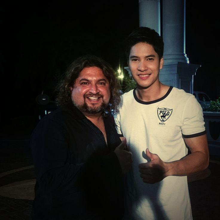 Thai Star Mike Patradej with Dr. Sunil Phol @ Dr. Sunil International Dental Clinic In Bangkok Thailand