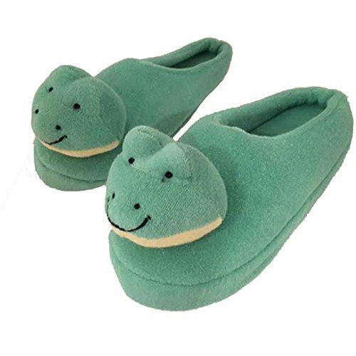 Frog Spa Slippers (Sz 7-8)
