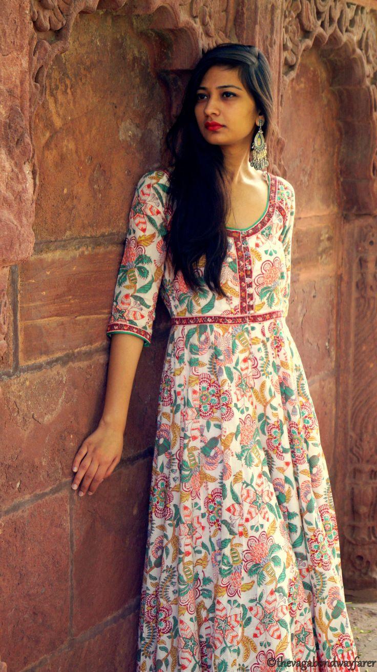 Anokhi dress cotton