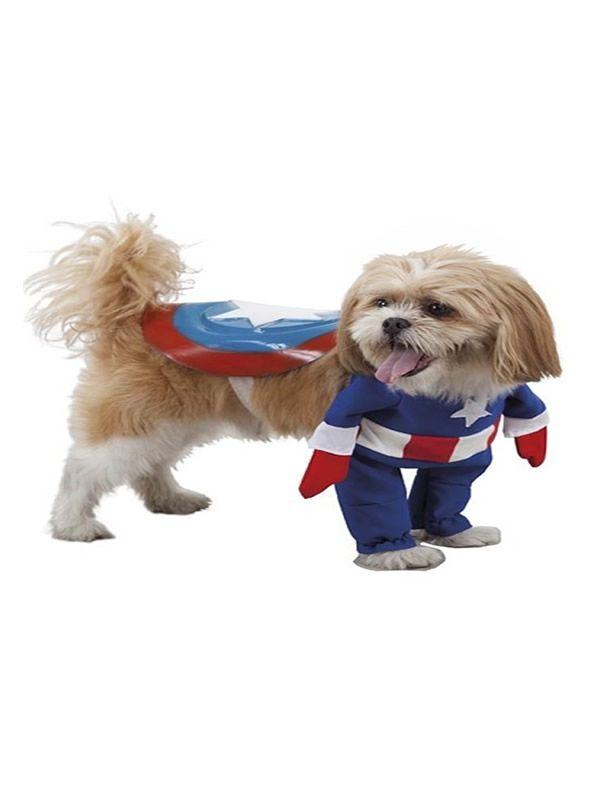 Quereis Comprar Un Disfraz De Superheroe Capitan America Para