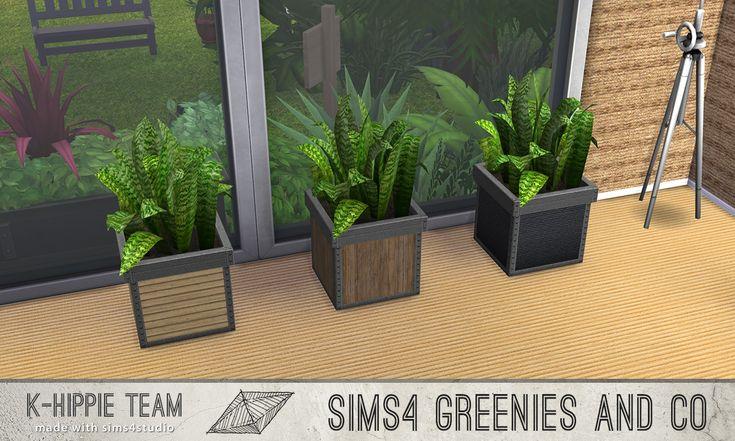 Greenees and Co I TS3toTS4 I Vol. 1 by k-hippie via tech-hippie.com  I Maxis Match I Sims 4