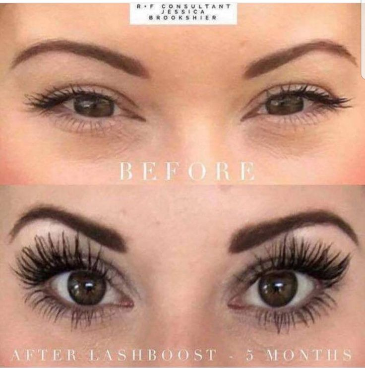 Natural full lashes! All yours!! Rodan and Fields Lash Boost