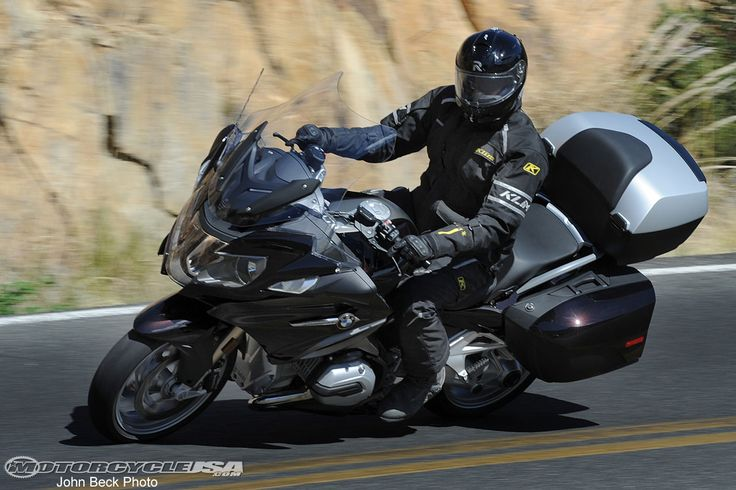 See photos of BMW's updated R1200RT in action in the 2014 BMW R1200RT photo gallery. Read more in the 2014 BMW R1200RT First Ride Review article.