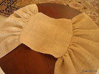 """Cheap Chic Home: """"Round"""" Table Runner"""