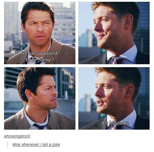 Dean and Cas ~ Supernatural                                                                                                                                                                                 More