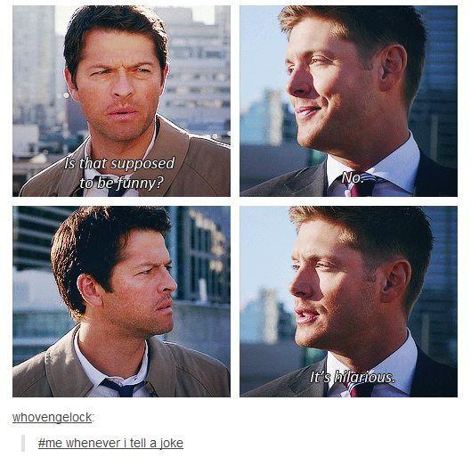 Dean and Cas ~ Supernatural                                                                                                                                                                                 More