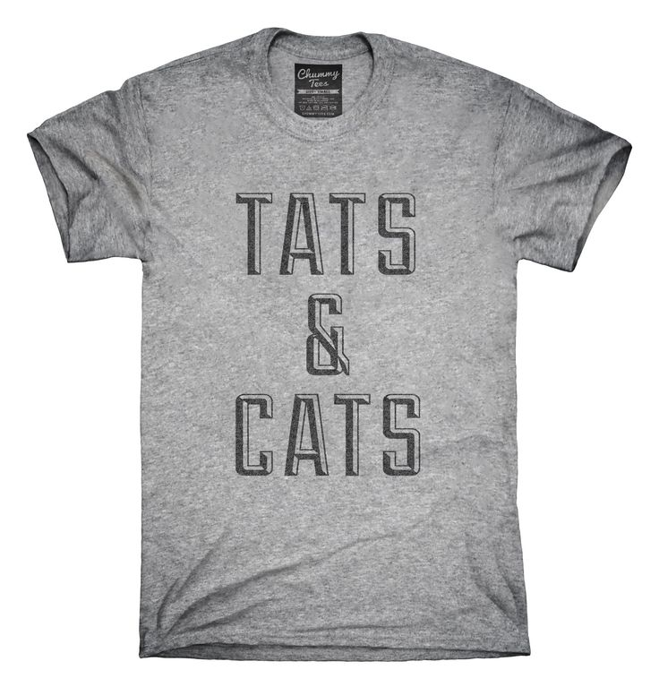 Tats And Cats T-Shirts, Hoodies, Tank Tops