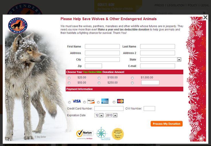 Defenders Of Wildlife Christmas Cards