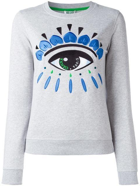 KENZO Eye Sweatshirt. #kenzo #cloth #sweatshirt