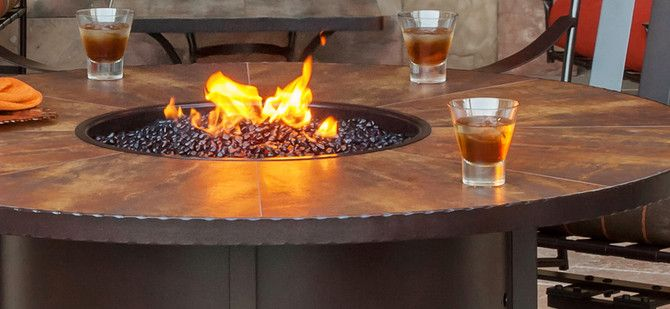 fire table outdoor fire tables fire places fire pits outdoor rh pinterest com