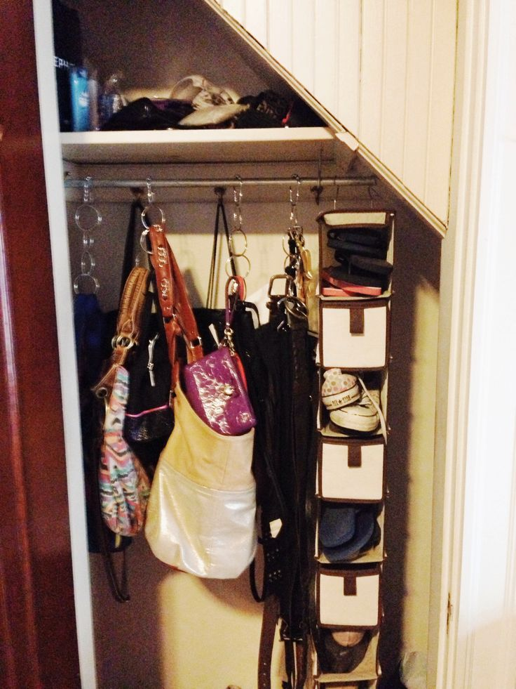 Closet organizer purses belts bags target shower - Closet organizer for purses ...
