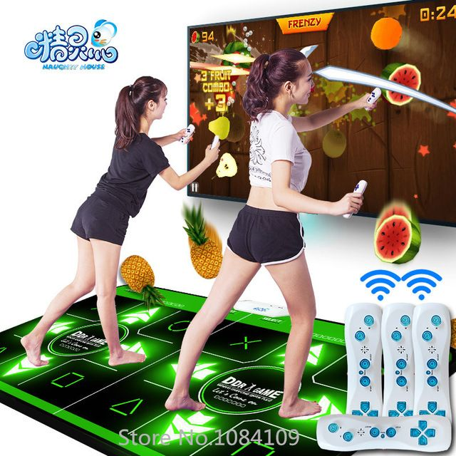 HOT 2016 new fashion Motion Sensing sd-card connect remote control double dance pad blanket double for tv pc pad TV US $59.00 To Buy Or See Another Product Click On This Link  http://goo.gl/EuGwiH