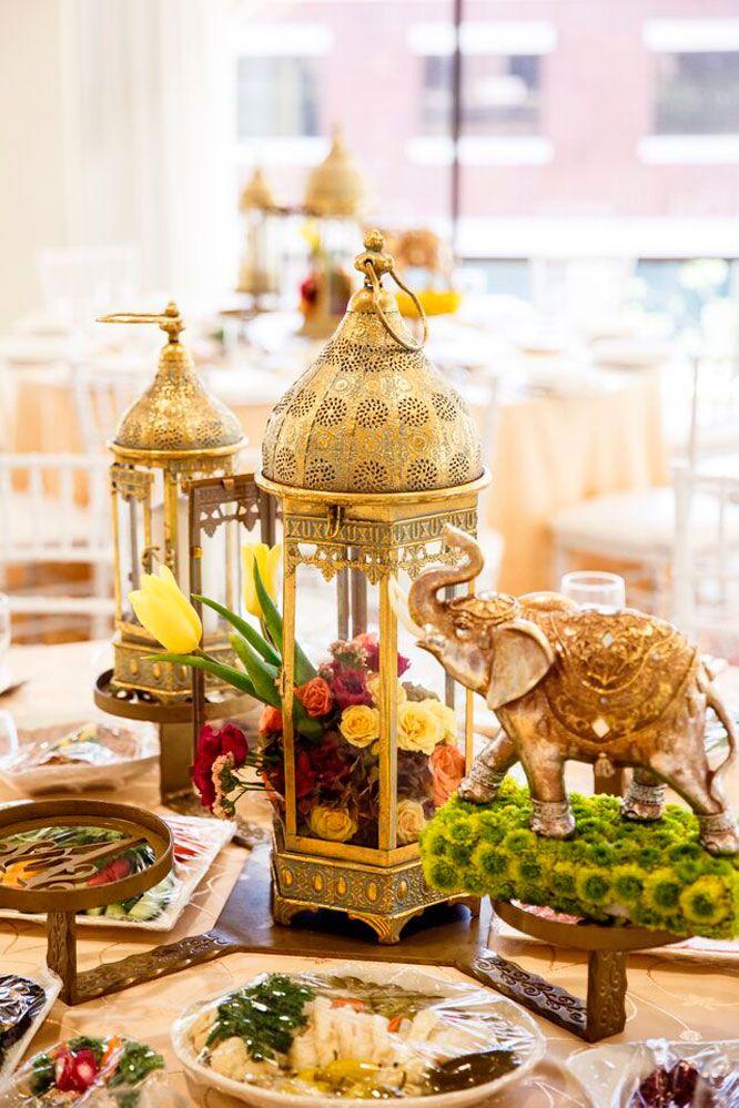 ideas for bridal shower brunch food%0A Gorgeous Bollywood Bridal Shower table set up  See all the details on  Harsanik blog