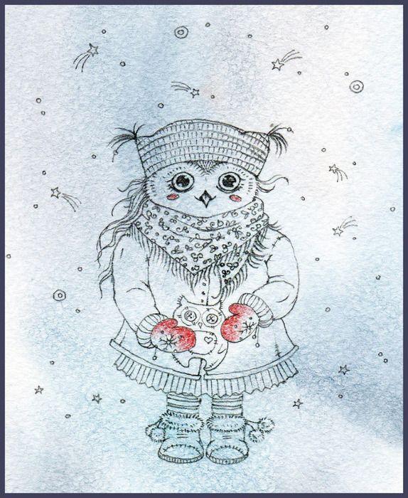 Лет открытка, совы инги пальцер картинки новогодние