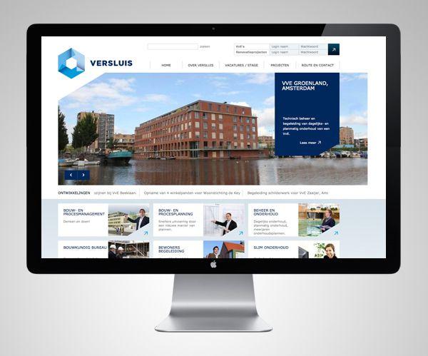 Versluis Construction Management by Deep Graphic Design , via Behance