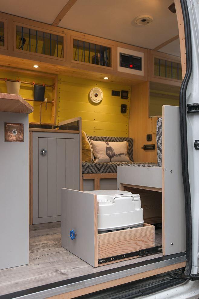 Versteckte Toilette im Wohnmobil –  #im #Toilette #versteckte #Wohnmobil – Camper