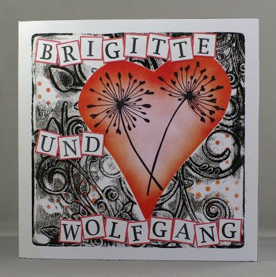 34 best German Claritystamp Creations images on Pinterest - print anniversary card
