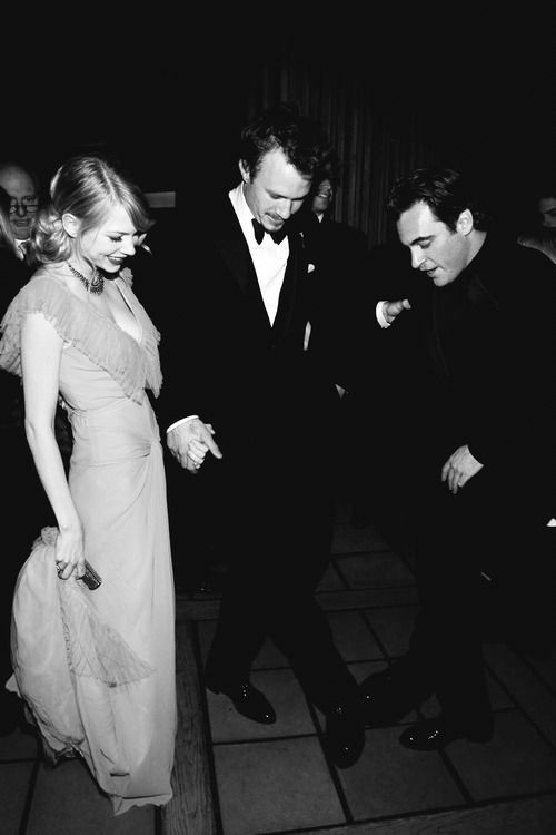 Michelle Williams, Heath Ledger, Joaquin Phoenix
